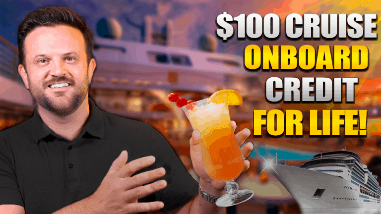 Everything You Need to Know About $100 Cruise Onboard Credit for the Rest of Your Life