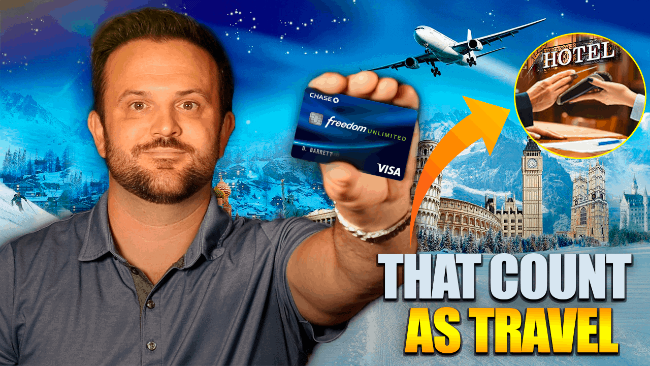 5 Things that Count as Travel for Chase Freedom Unlimited